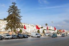 Vanlig morgon i Tangier Fotografering för Bildbyråer