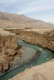vanlig qinghai flod tibet Arkivfoto