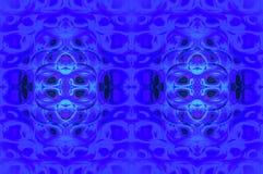 Vanligt ellipsmodellmörker - blå purpurfärgad turkos Royaltyfri Foto