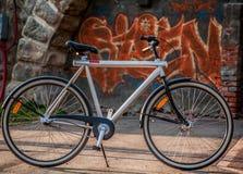 Vanmoof-Fahrrad stockfoto