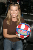 Vanna White. At the  Harlem Globetrotters Game Staples Center Los Angeles, CA February 19, 2007 2007 Kathy Hutchins / Hutchins Photo  and her children, Son Royalty Free Stock Image
