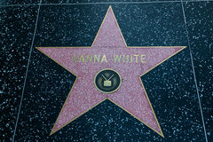 Vanna White Holywood Star Stock Photography