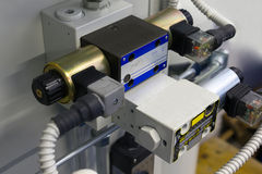Vanne électromagnétique Photos stock