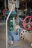 Vanne papillon pneumatique pour la raffinerie ou l'usine chimique Image libre de droits