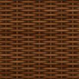 Vannerie texturisée en bois décorative abstraite Illustration de Vecteur
