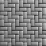 Vannerie texturisée métallique décorative abstraite illustration de vecteur