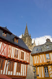 Vannes architecture Royalty Free Stock Photos