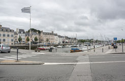 Vannes in Brittany Stock Photo