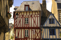Vannes (Brittany) Royalty Free Stock Photo