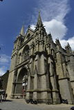 Vannes Cathedral or St. Peter's Cathedral, Vannes, Brittany, France Stock Photography