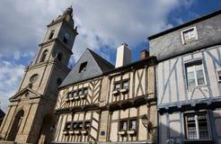 Vannes - ciudad medieval foto de archivo libre de regalías