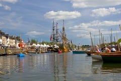 Vannes harbour Royalty Free Stock Photo