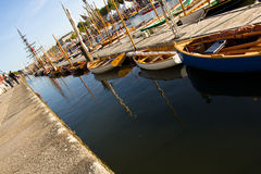 Vannes - harbour Royalty Free Stock Images