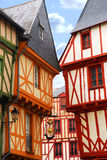 Vannes médiéval, France photographie stock