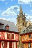 Vannes médiéval, France photographie stock libre de droits