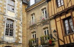 Vannes médiéval, France image stock
