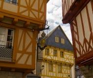 Vannes médiéval, la Bretagne Photo libre de droits