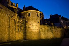 Vannes nigth Stock Photography