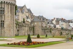 Vannes w Brittany Obrazy Royalty Free