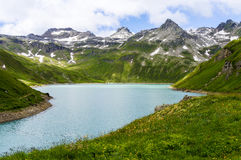 Vannino lake, Formazza Valley Royalty Free Stock Photo