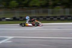 Vanno gli sport di corsa del kart Fotografia Stock