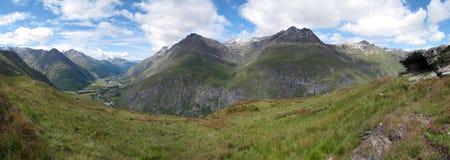 Vanoise; 宽视图 图库摄影