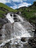 Vanoise; 瀑布 免版税库存图片