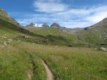 Vanoise; 阿尔卑斯 库存照片