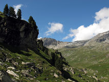 Vanoise山 库存照片