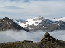Vanoise; Above the fog Royalty Free Stock Photo