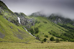 Vanoise National Park. This image shows a view of the Vanoise National Park Stock Image