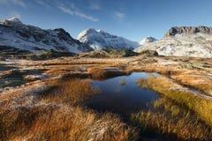 Vanoise-Nations-Park in Frankreich Lizenzfreie Stockfotografie
