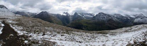Vanoise; Wide view Stock Photo