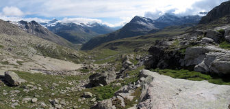 Vanoise; Wide view Royalty Free Stock Images