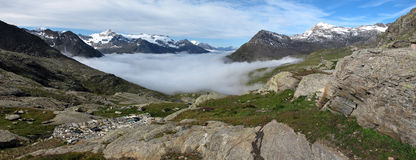 Vanoise; Wide view Royalty Free Stock Image