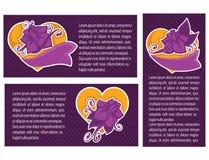 Vanolla violeta Fotos de archivo libres de regalías