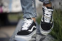 Vans Old Skool Stock Photography