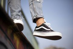 Vans Old Skool Stock Image