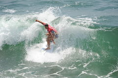 Vans US Open of Surfing Huntington  Beach CA USA, July 2016 Stock Photography