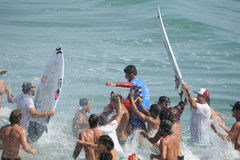 Vans US Open of Surfing Huntington  Beach CA USA, July 2016 Stock Photos