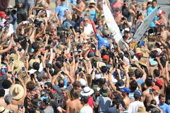 Vans US Open of Surfing Huntington  Beach CA USA, July 2016 Stock Photo
