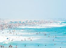 US Open of surfing in Huntington Beach royalty free stock photo