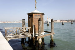 Vantage point in venice Royalty Free Stock Image