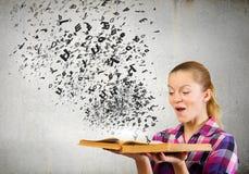Vantagem da educação Foto de Stock