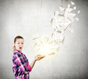 Vantagem da educação Imagem de Stock Royalty Free