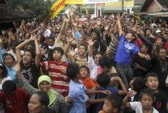 VANTAGEM DE ENFRAQUECIMENTO DA RUPIA DE INDONÉSIA Fotografia de Stock Royalty Free