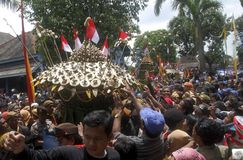 VANTAGEM DE ENFRAQUECIMENTO DA RUPIA DE INDONÉSIA Fotos de Stock Royalty Free
