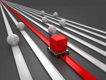 Vantagens competitivas | Facilitando deficiências ilustração stock