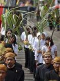 VANTAGGIO D'INDEBOLIMENTO DELLA RUPIA DELL'INDONESIA Fotografia Stock Libera da Diritti