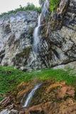 Vanturatoarea瀑布,罗马尼亚 免版税图库摄影